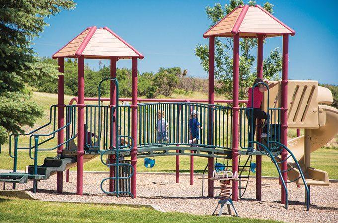 Children on a Playground