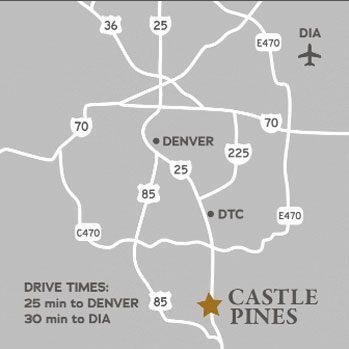 Castle Pines Map