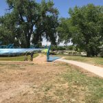 Outdoor Fitness Court in Loveland, CO