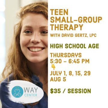 Teen Small Group Therapy